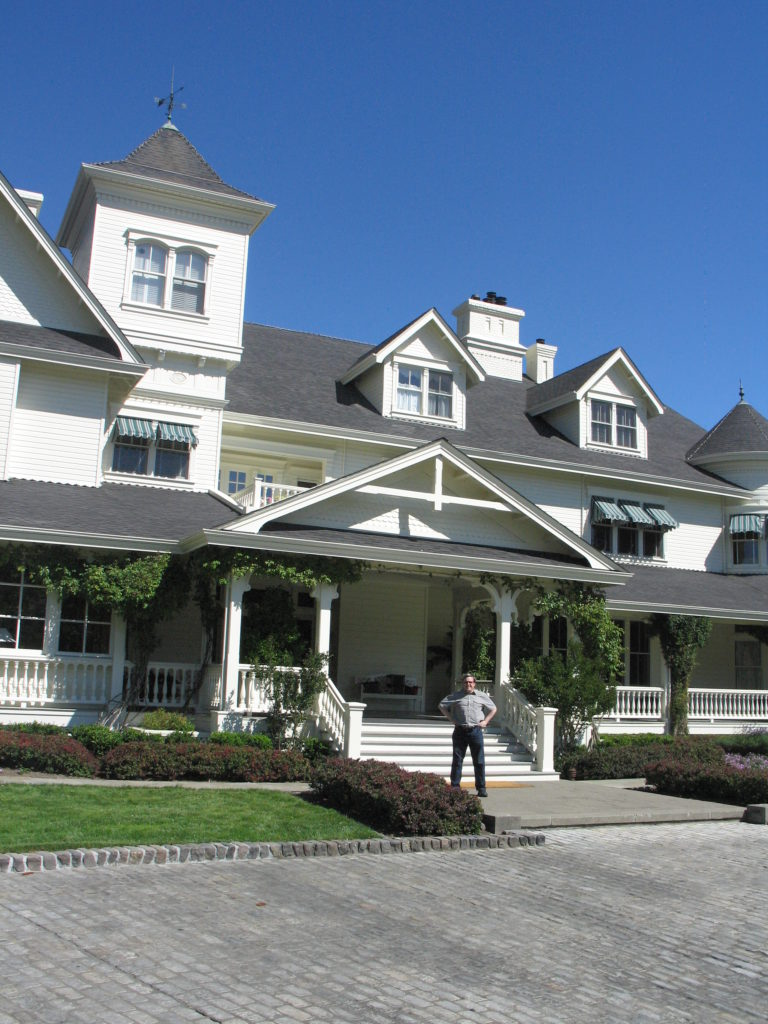 Main House, Skywalker Ranch Photo by Robyn Stanley (c) 2013 W.R. Miller