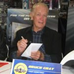 Bruce Gray at Captain Power Fan Night 2013, at Blast from the Past, Burbank, CA.  Photo © W. R. Miller.