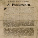 George Washington's Thanksgiving Proclamation, October 3, 1789
