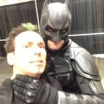 Choked by Batman!
