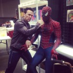 Jason David Frank takes on Spider-Man
