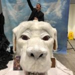 Jason David Frank rides a Luckdragon!